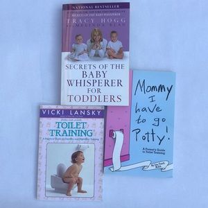 Three Books on Toddlers and Toilet Training